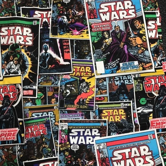 Star Wars Other - 2 Yards Star Wars Comic Book Cotton Fabric